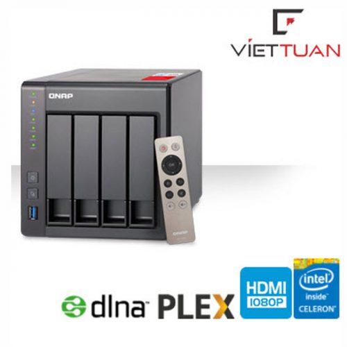 Thiết bị lưu trữ Qnap TS-251+-8G (8GB RAM)