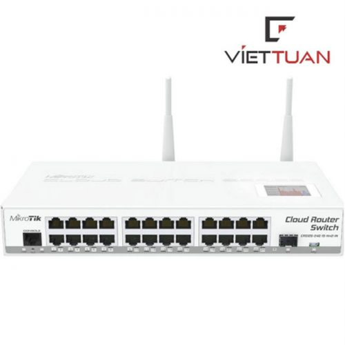 Router Switch MikroTIK CRS125-24G-1S-2HnD-IN