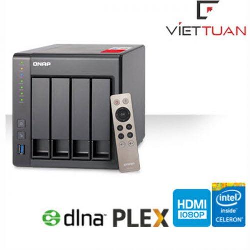 Thiết bị lưu trữ Qnap TS-451+-2G (2GB RAM)