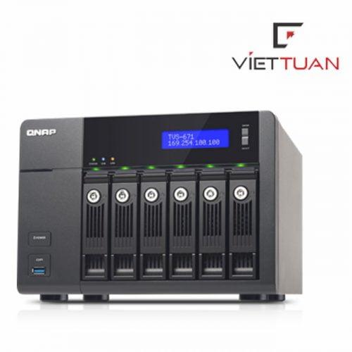 Thiết bị lưu trữ Qnap TVS-671-i3-4G
