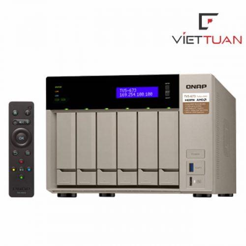 Thiết bị lưu trữ Qnap TVS-673-16G