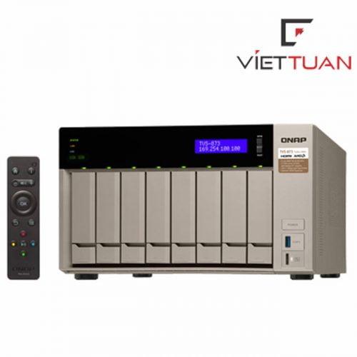 Thiết bị lưu trữ Qnap TVS-873-16G