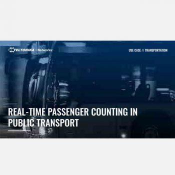 Đếm hành khách theo thời gian thực trên phương tiện giao thông công cộng