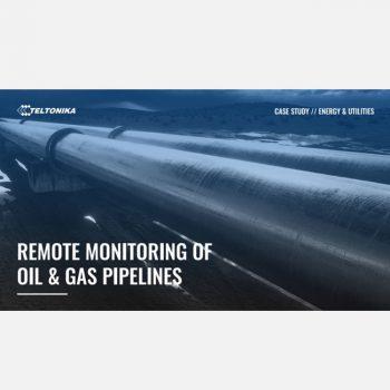 Giám sát từ xa các đường ống dẫn dầu và khí đốt với bộ Gateway Teltonika TRB145 công nghiệp