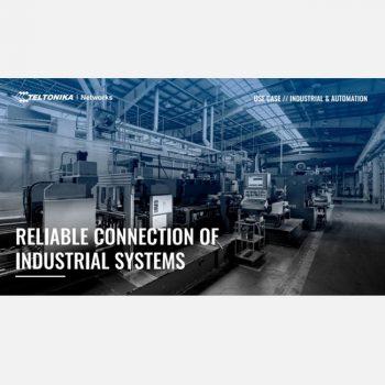 Ứng dụng Bộ chuyển mạch switch TELTONIKA vào các hệ thống nhà máy, phân xưởng công nghiệp – Giải pháp kết nối đáng tin cậy