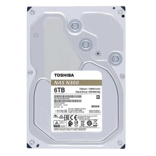 Ổ cứng NAS Toshiba 6 TB (HDWG160UZSVA)