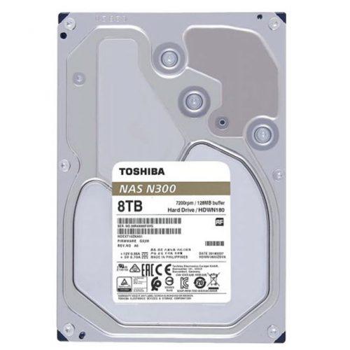 Ổ cứng NAS Toshiba 8 TB (HDWG180UZSVA)