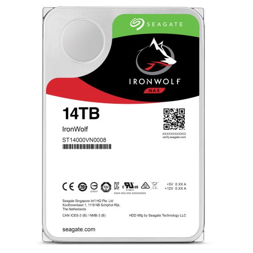 Ổ cứng cho nas Seagate Ironwolf 14TB ST14000VN0008