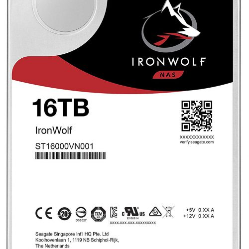 Ổ cứng cho nas Seagate Ironwolf 16TB ST16000VN001