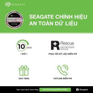Lựa chọn sản phẩm ổ cứng Seagate chính hãng và thông tin trung tâm bảo hành của Hãng Seagate tại Việt Nam