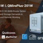 QNAP ra mắt QMiro-201W và QMiroPlus-201W – Bộ định tuyến Wi-Fi SD-WAN ba băng tần thế hệ tiếp theo để đáp ứng nhu cầu mạng và lưu trữ trong các ngôi nhà hiện đại và làm việc từ xa
